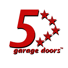 5 star garaqe door logo
